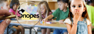 Snopes Lies About California's Plan To Teach 5-Year-Olds Transgenderism