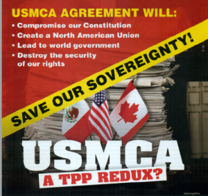 Betrayed, by Advisors, Trump Will Be Livid When He Learns the USMCA Takes Our Sovereignty!