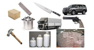 BAN:Knives,Boxes, Box Cutters, Pressure Cookers, Fertilizer, Propane, Hammers, Cars, Trucks…?