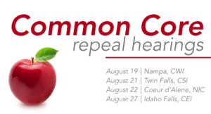 Idaho Common Core hearings scheduled, a chance to undo bad policy
