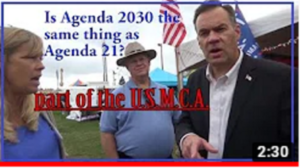 Russ Fulcher for Congress Informed Agenda 2030 Is in the USMCA