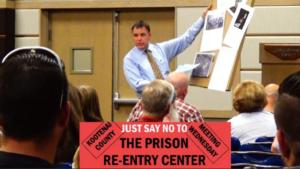 'No Prison Re-Entry Center' - Kootenai County Advisory Board