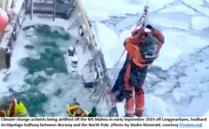 No meltdown: ANOTHER ship with climate-change warriors gets stuck in ice