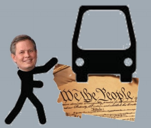 Steve Daines is throwing us under the bus!