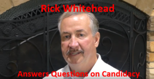 Interview with Kootenai County Sheriff Candidate Rick Whitehead