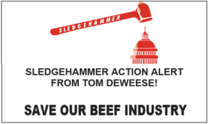HELP SAVE OUR BEEF INDUSTRY