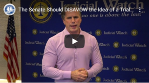 JUDICIAL WATCH STATEMENT ON HOUSE RESOLUTION VOTE