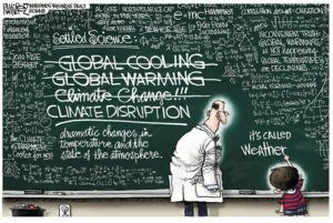 Exposing How the Hoax of Climate Change Drives Delirious Political Policies