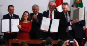 "U.S., Mexico, and Canada Sign ""Progressive"" USMCA Regional Government Scheme"