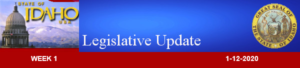 Legislative Update Week 1 Boise - From Rep. Heather Scott