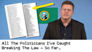 All the WA Politicians I've Caught Breaking the law…so far.