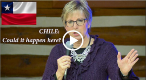 Chile: From economic miracle to econmic social chaos. Could it happen here?