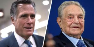 Mitt Romney Is a Top 20 Recipient of Funding By George Soros' Lobbyist Group