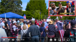 Hazardous Liberty Rally/Protest Olympia, WA. May 9, 2020