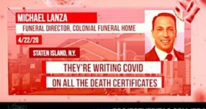 Project Veritas Video Exposé: Authorities Are Inflating COVID-19 Death Numbers for Money