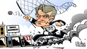 Gov. Little is solely responsible for the demise of Idaho businesses