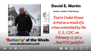 You're Under House Arrest as a Result of a Crime Committed by the U.S. CDC on Feb. 17, 2014, that YOU Paid For