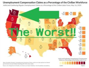 Nigerian Fraud Ring helps Washington State lead nation in Unemployment Stats