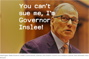 Corona virus lawsuits against Governor Inslee – the list