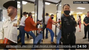 Ammon Bundy & The People not allowed entry to Caldwell, Idaho City Council Meeting
