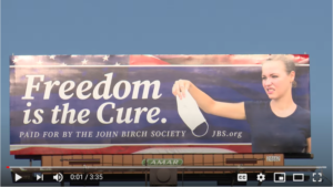 'Freedom Is the Cure' Billboard Causes Controversy - Spokane, WA