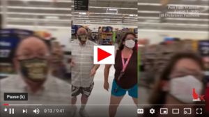EXCLUSIVE: Victim explains assault at Walmart by shopper for not wearing mask - Post Falls, ID