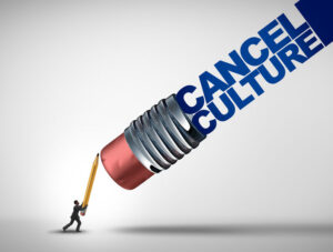 Cancel culture wants delete key for discourse, history