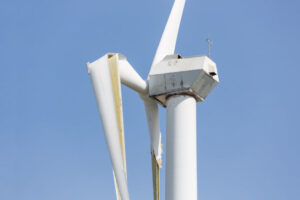 Wind turbines generate mountains of waste