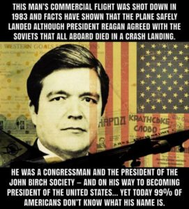 The Man Who Would Be President's Plane Was Shot down in 1983 – Were the American People Lied To?