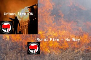 Don't blame Antifa for rural fires – they would never do that!