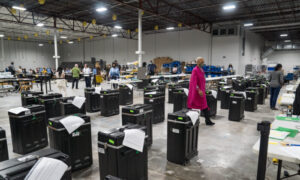 Judge Blocks, Unblocks, Then Blocks Georgia From Wiping or Resetting Election Machines