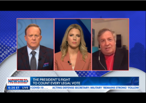 Dick Morris to Newsmax TV: Georgia Recount 'a Sham and a Hoax and a Fix'