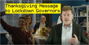 A Thanksgiving Message to Lockdown Governors