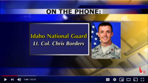 Idaho National Guard taskforce activated: Interview with Lt. Col. Borders