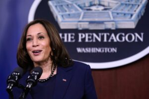 Harris Already Assuming Role of Commander-in-chief