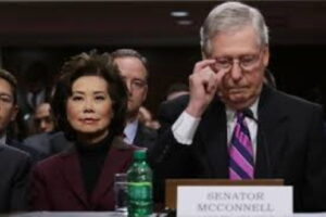 McConnell, Chao – as bad as Pelosi, Feinstein