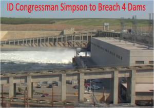 Breaching Snake River dams riles Pacific Northwest
