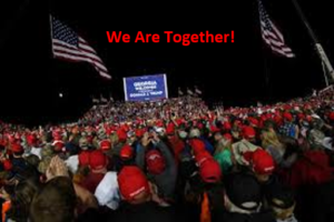 We are not fighting alone!