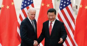 Tough Talk, Warm Embrace: Biden, Wall Street & China