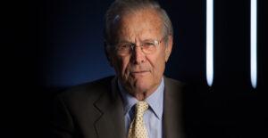 Remembering My Boss, Donald Rumsfeld